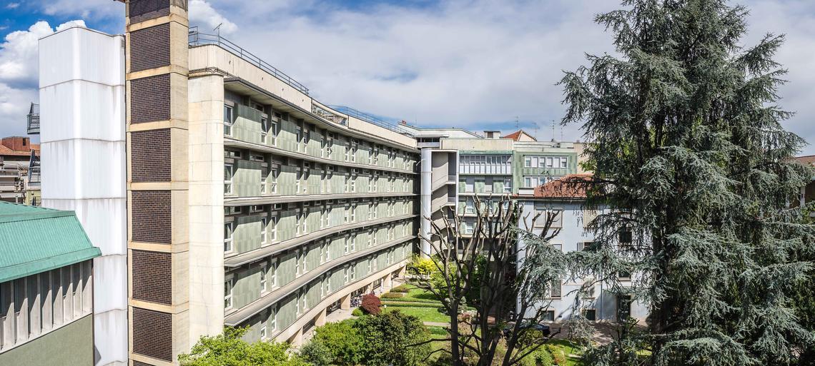 Clinica Capitanio. Foto di Ugo De Berti, www.udb.it